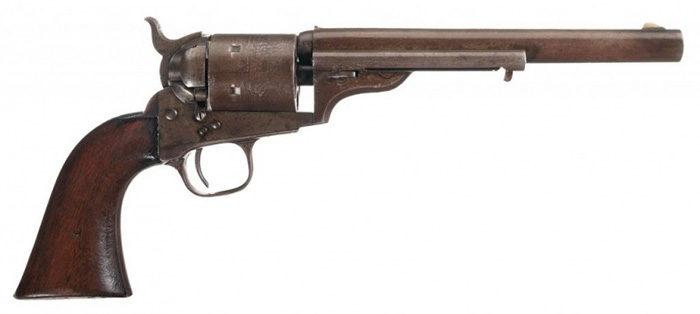 Револьвер Colt 1872 Open Top под патрон .44 RF.