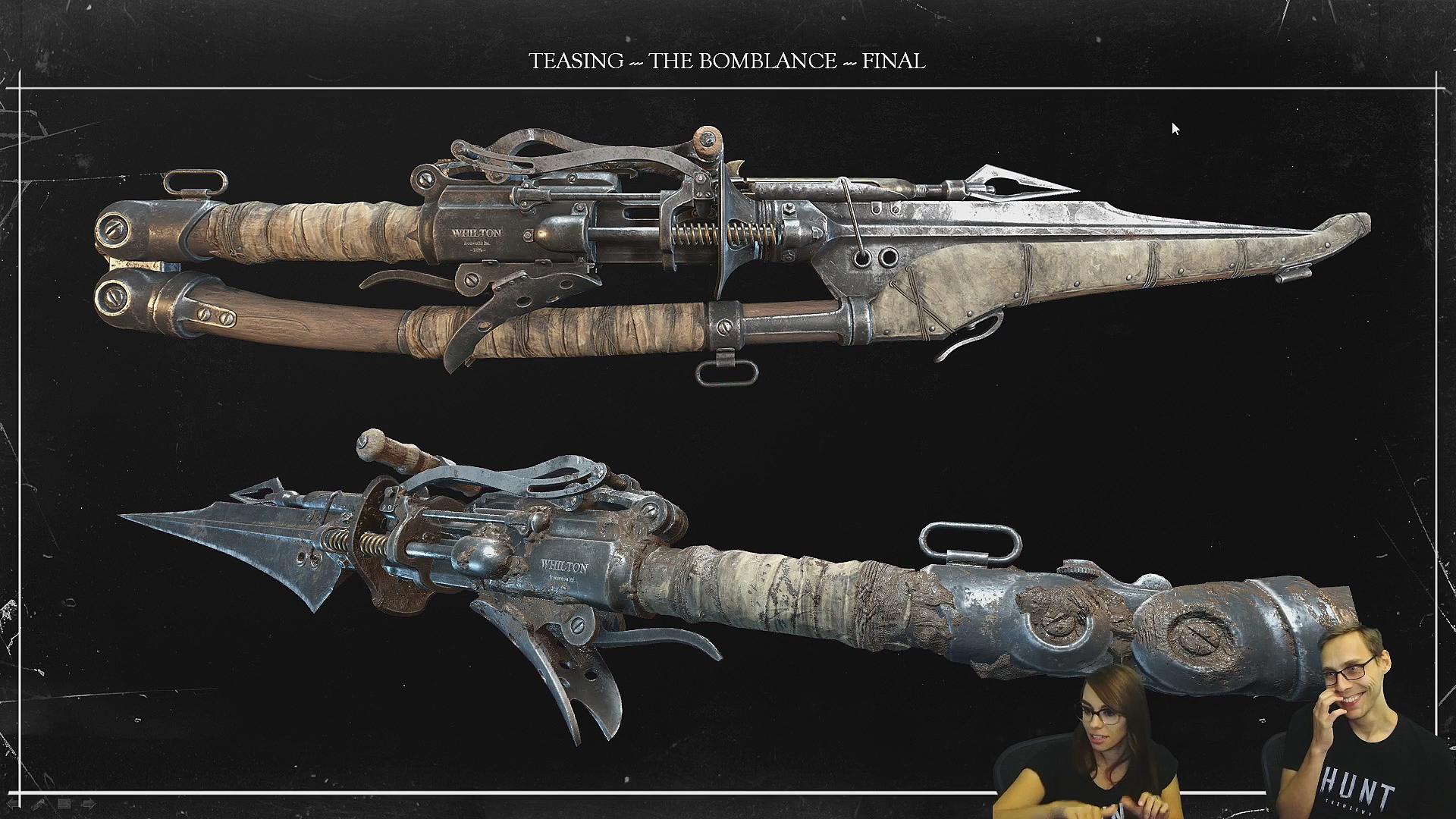 Стрим с разработчиком игры Hunt: Showdown - Alexander Asmus рассказывает про создание оружия