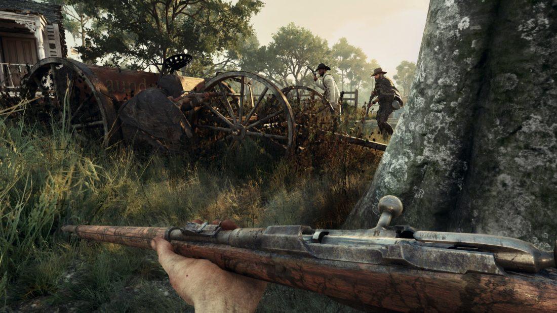 Убивайте других охотников в Hunt Showdown