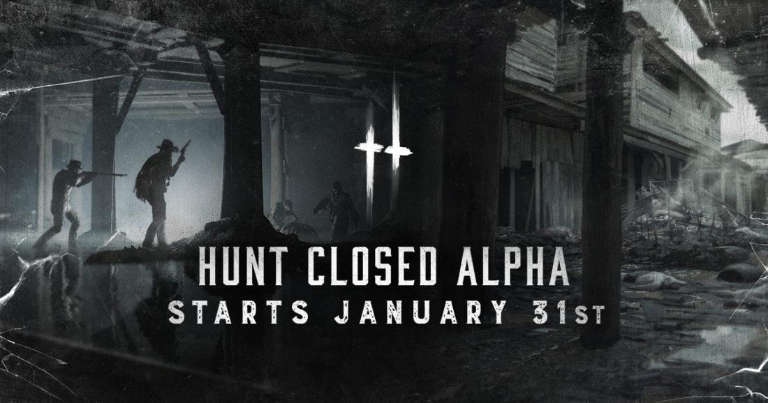 31 января 2018 года стартует закрытая альфа игры Hunt: Showdown