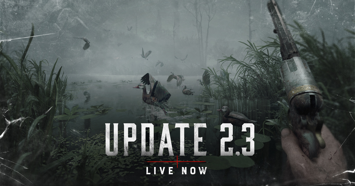 Обновление 2.3 к игре Hunt: Showdown