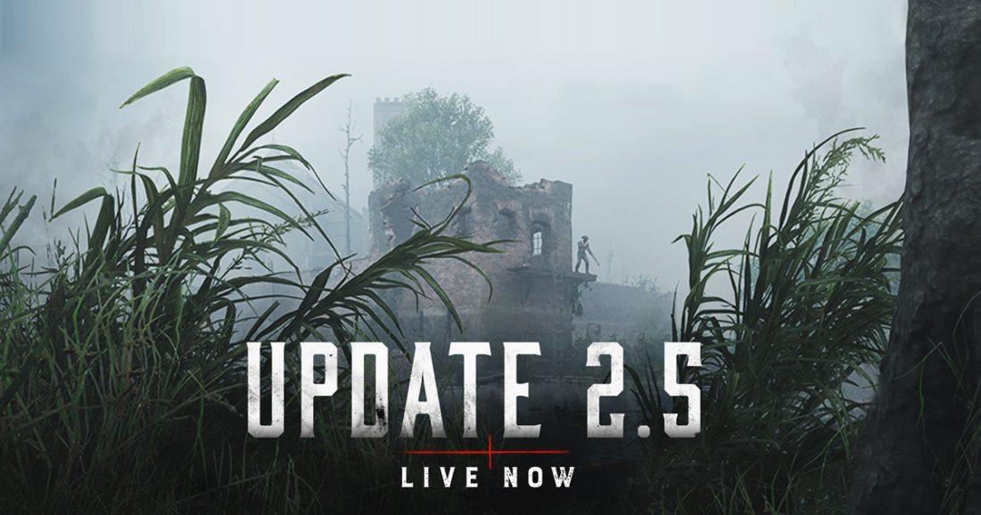 Обновление 2.5 установлено на основные сервера Hunt: Showdown
