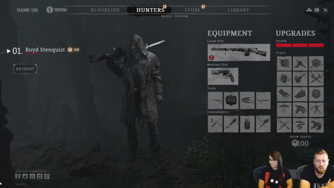 Контрабандное оружие в Hunt: Showdown