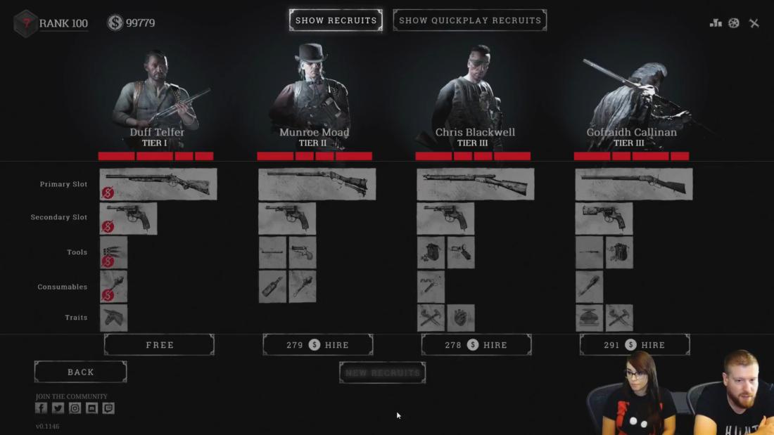 Бесплатный охотник категории I в Hunt: Showdown