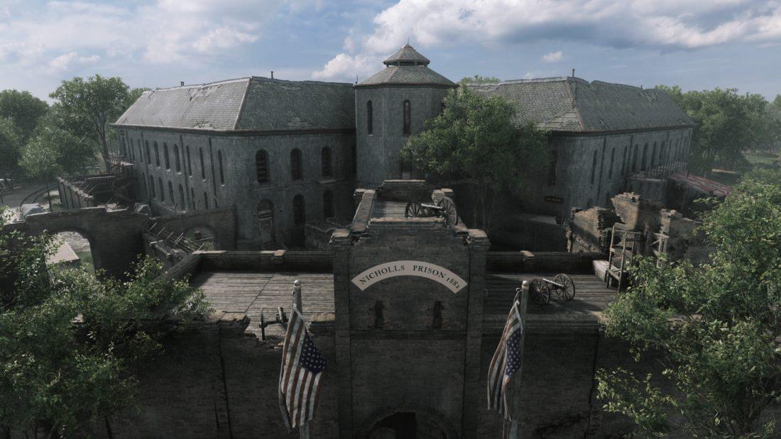 Тюрьма на карте Lawson Delta