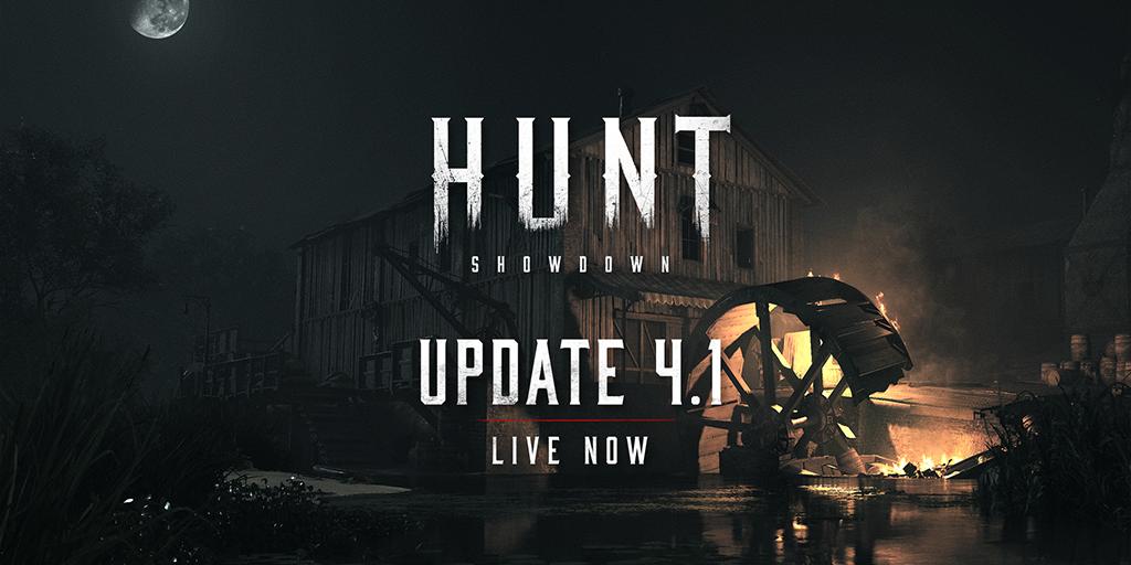 Обновление 4.1 на основных серверах Hunt: Showdown