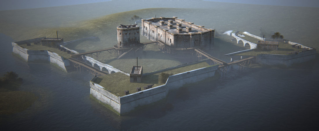 Экстерьер Fort Carmick