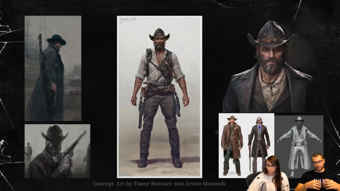 Стрим с разработчиком - создание персонажей к игре Hunt: Showdown