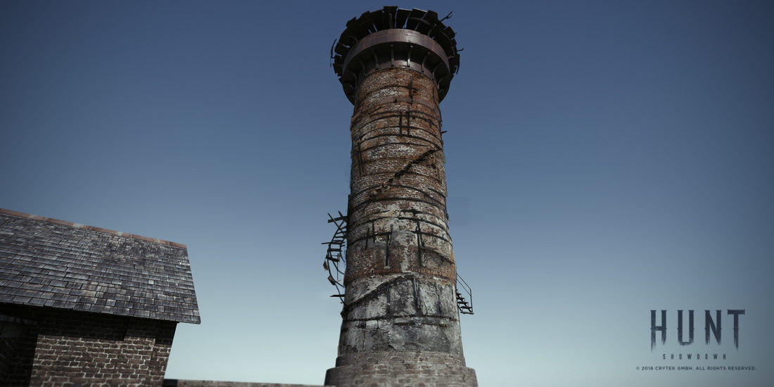 Savior Iron works на карте Lawson Delta в игре Hunt: Showdown