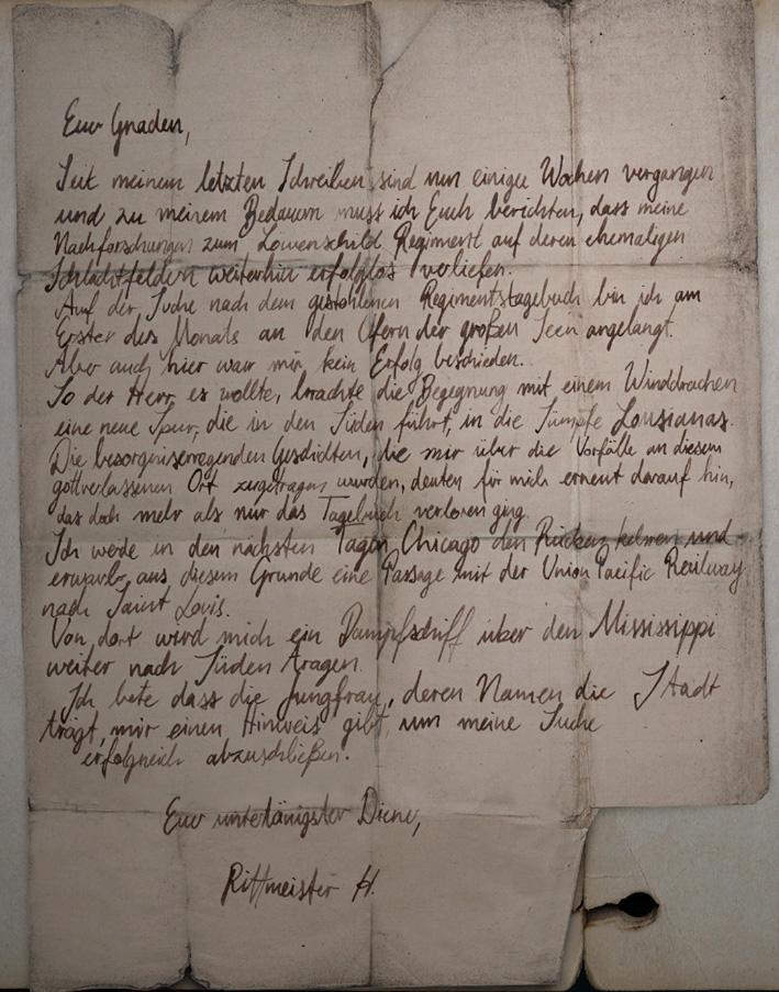 Письмо ротмистра Х.