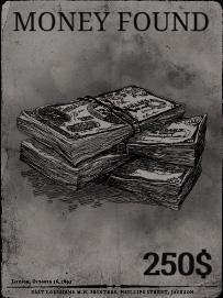 Найдено денег