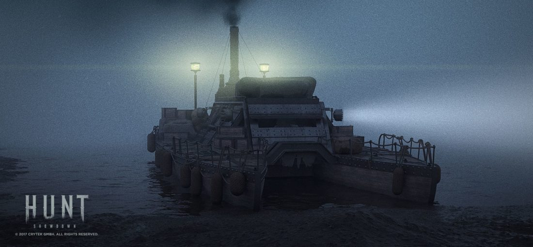 Эвакуационный транспорт в игре Hunt: Showdown