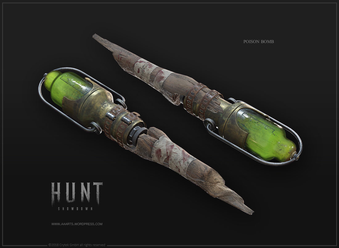 Poison Bomb в Hunt: Showdown