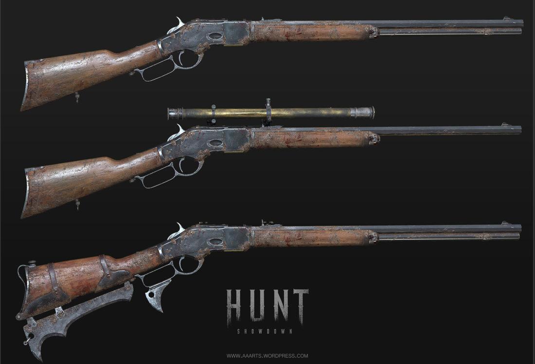 Винтовки Winfield в игре Hunt: Showdown