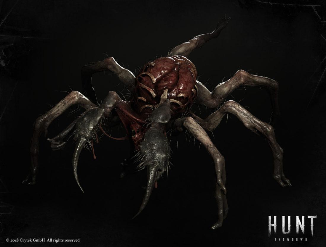 Босс Паук в игре Hunt: Showdown