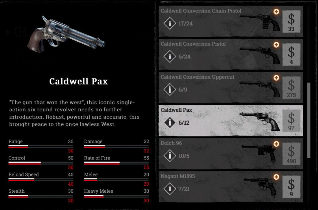 Caldwell Pax