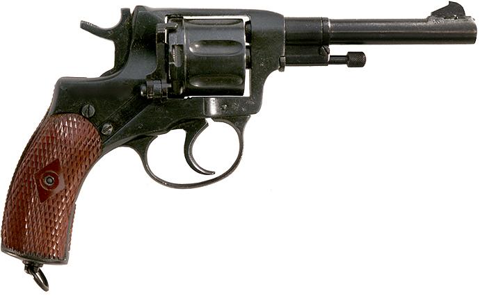 Nagant M1895 Revolver - 7.62x38R Nagant