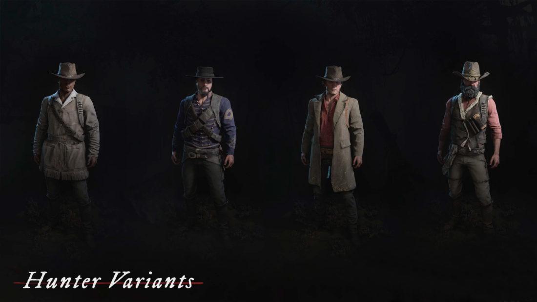 Новые облики охотников в Hunt: Showdown