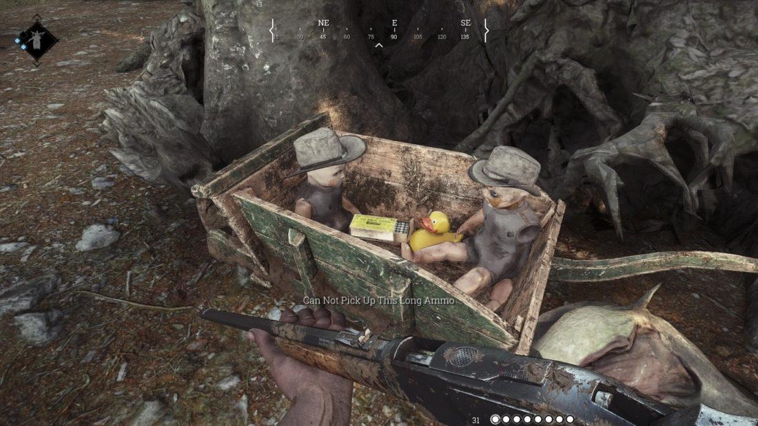Детские игрушки в игре Hunt: Showdown