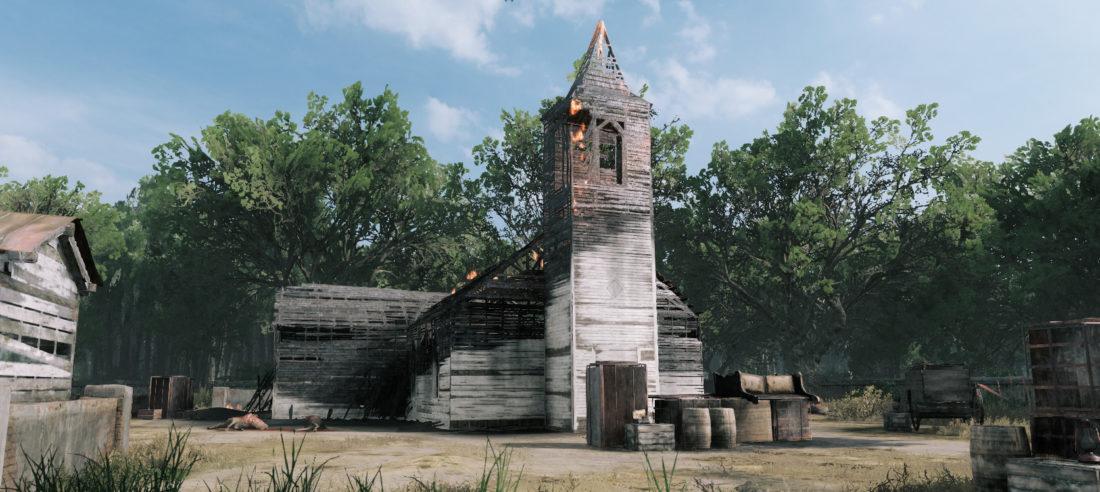 The Chapel of Madonna Noire