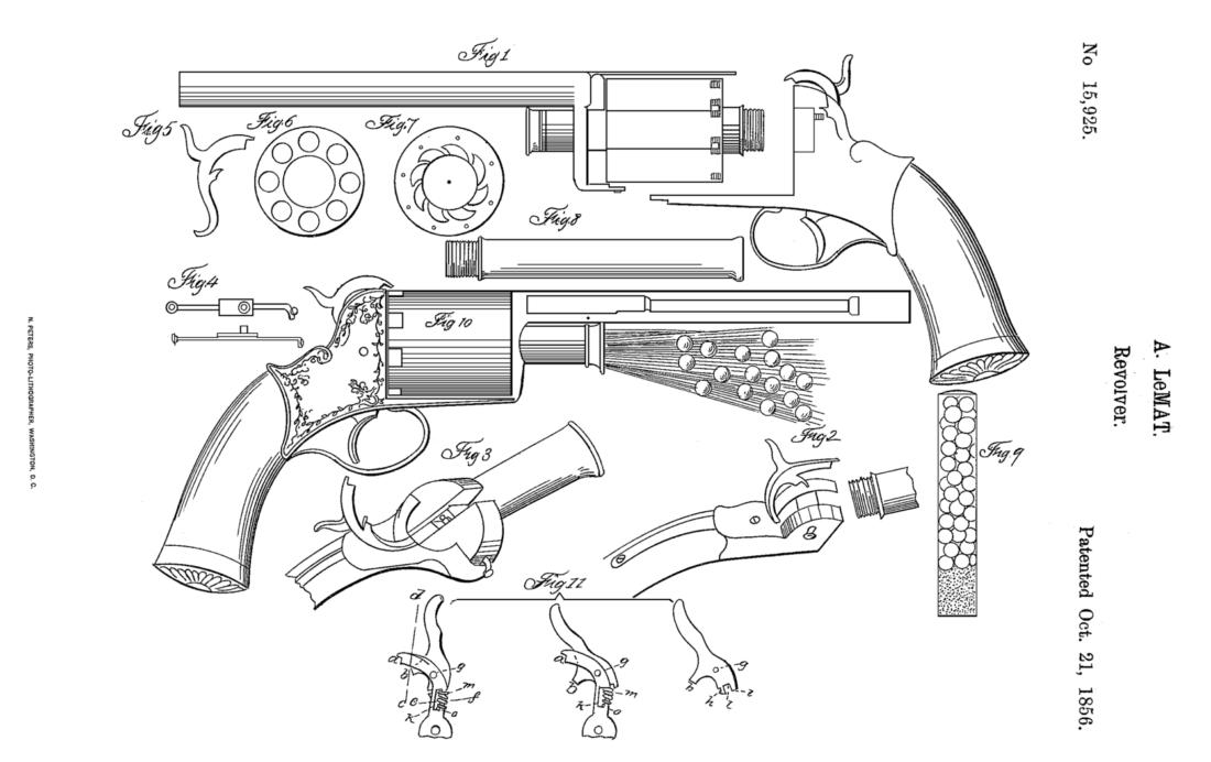 Револьвер LeMat в Hunt: Showdown