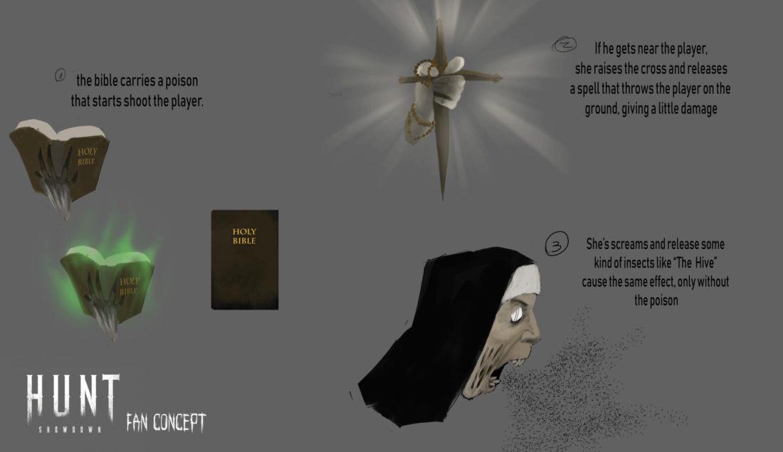 Фанатский вариант босса для Hunt: Showdown - The Nun (The Forgotten Daughter)