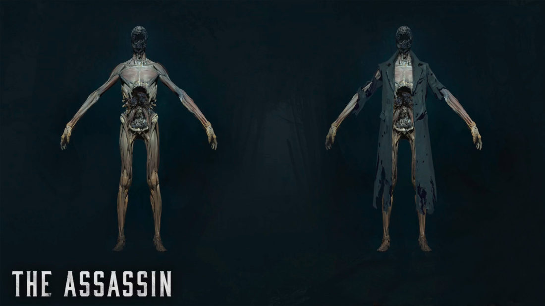 Босс Assassin в игре Hunt: Showdown