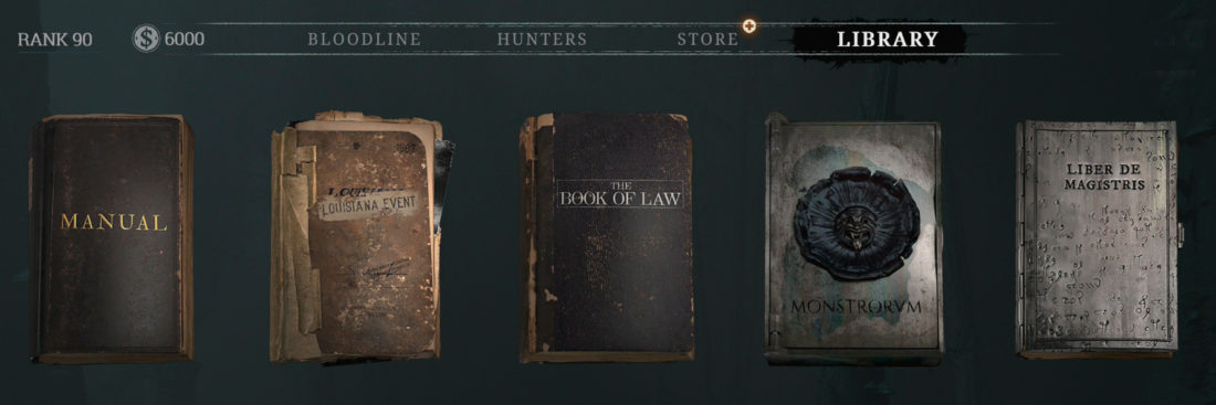 «Книга монстров» (LIBER DE MONSTRORVM) в игре Hunt: Showdown