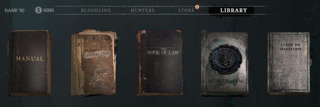 «Книга монстров» (LIBER DE MONSTRORVM) в игре Hunt: Showdown