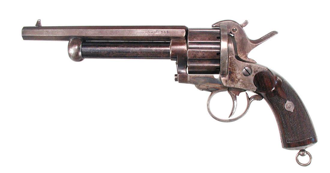 Револьвер LeMat под шпилечный патрон .44