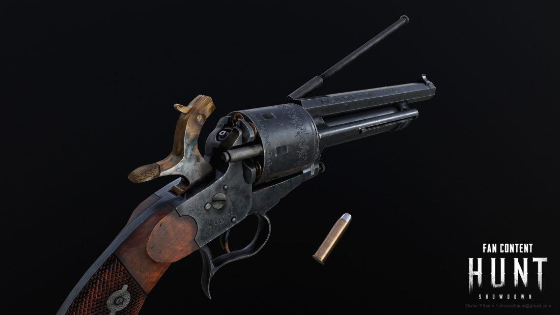 Фанатская версия револьвера Le Mat была предложена за год до появления револьвера в Hunt: Showdown