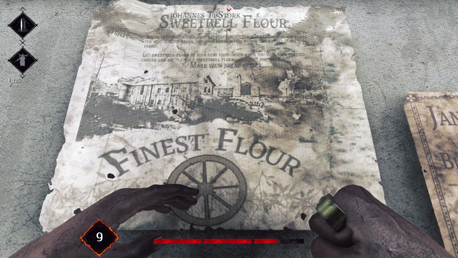 Реклама компании Sweetbell Flour в Hunt: Showdown