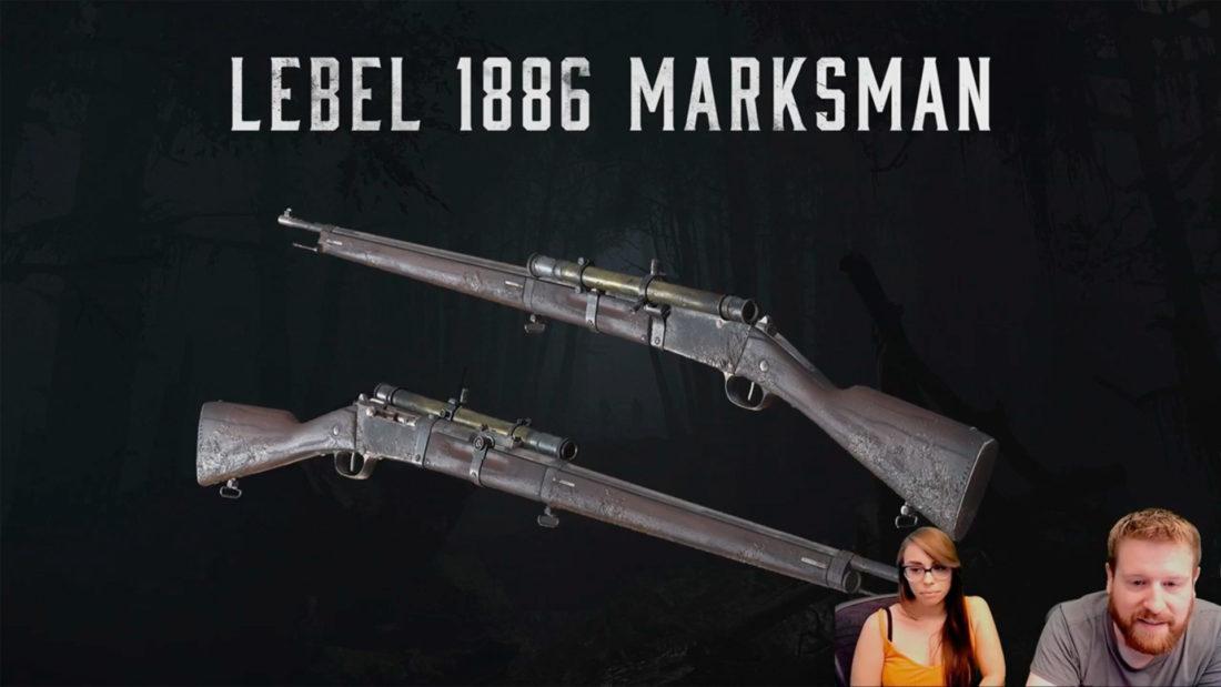 Lebel 1886 Marksman