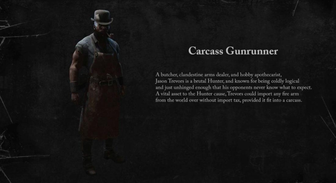 Carcass Gunrunner