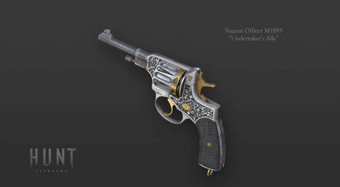 Nagant Officer M1895 «Undertaker`s Ally»