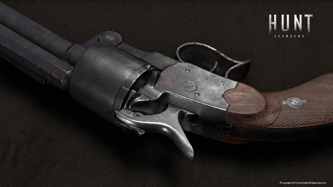 Револьвер LeMat Mk2