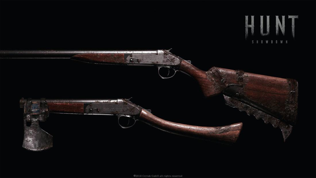 Romero Arms Company Model 77 в базовом исполнении и Hatchet