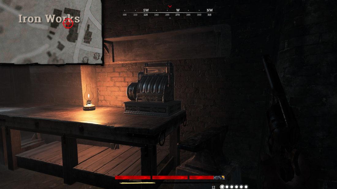Кассовый аппарат на Iron Works в логове