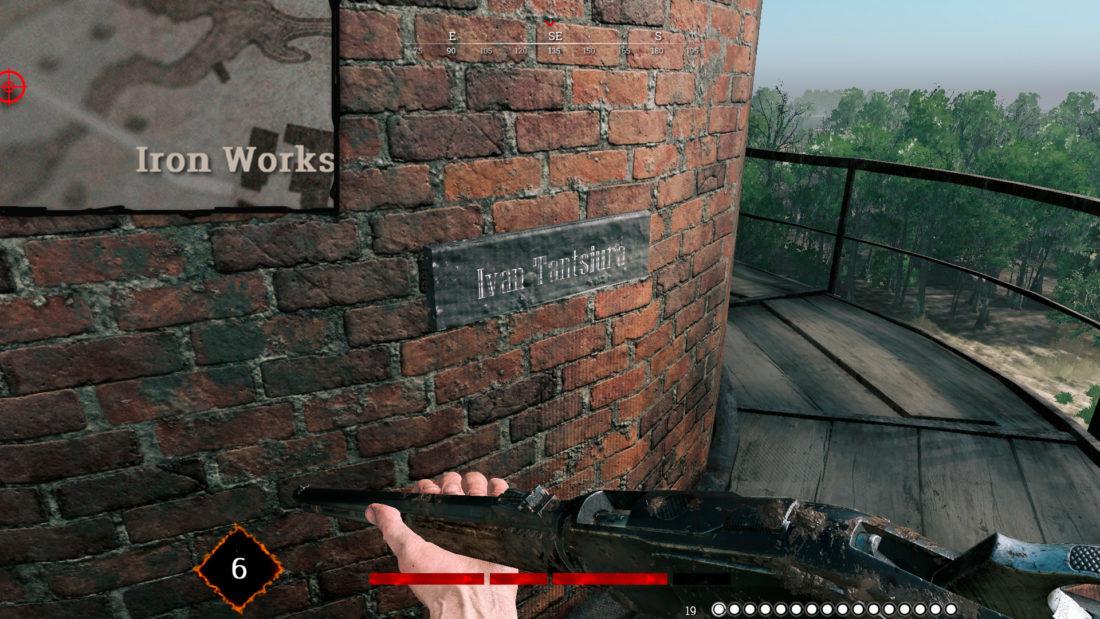 Памятная именная табличка от разработчика игры Ivan Tantsiura