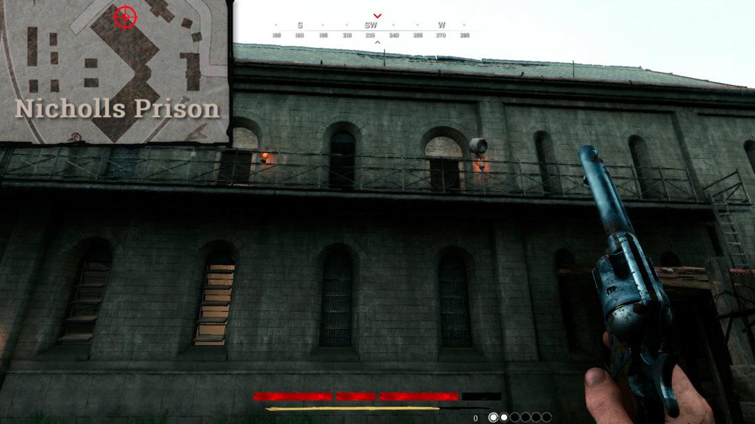 Управляемые прожекторы на Nicholls Prison