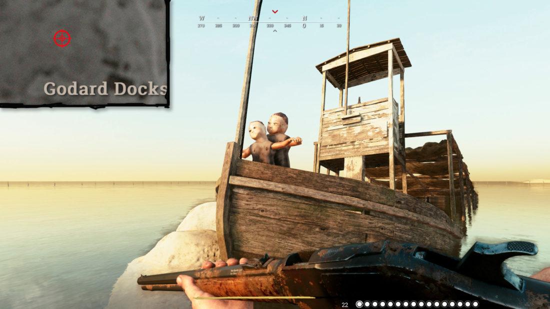"""Отсылка к фильму """"Титаник"""" в игре Hunt: Showdown"""