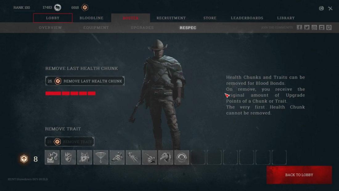 Respec в Hunt: Showdown