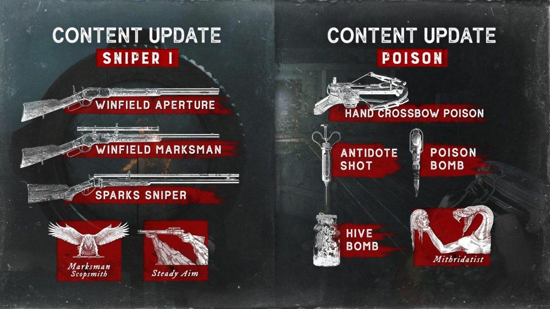 Контентные обновления Sniper I и Poison для Hunt: Showdown на XBOX