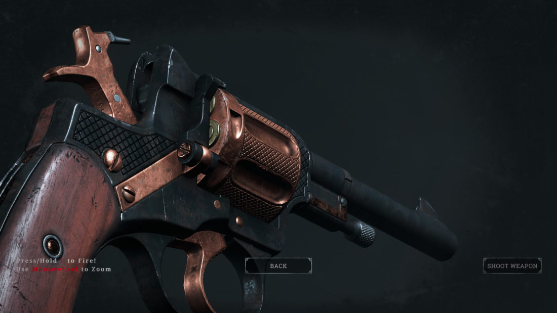 Легендарный скин Copperhead для Nagant M1895