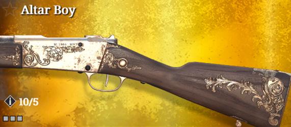 Легендарное оружие в Hunt: Showdown. Altar Boy для Lebel 1886