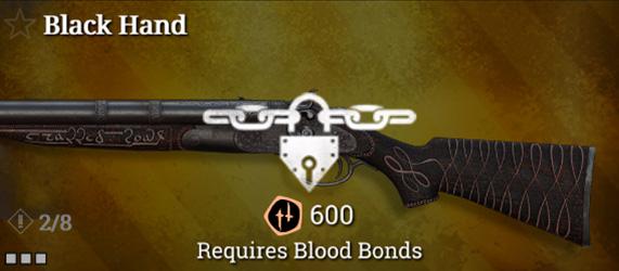 Легендарное оружие в Hunt: Showdown. Black Hand для Caldwell Rival 78