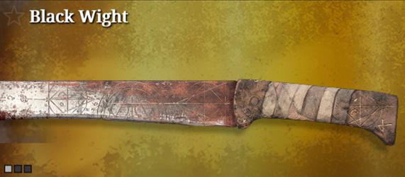 Легендарное оружие в Hunt: Showdown. Black Wight для мачете