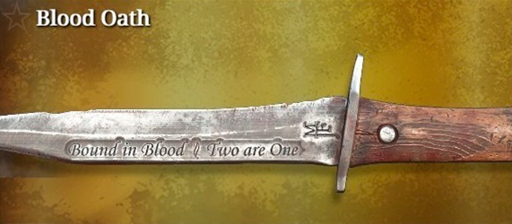 Легендарное оружие в Hunt: Showdown. Blood Oath для ножа