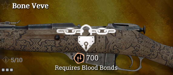 Легендарное оружие в Hunt: Showdown. Bone Veve для Mosin-Nagant M1891