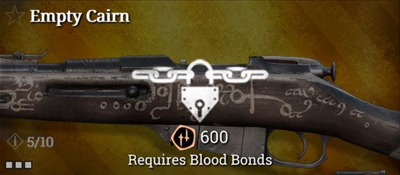 Легендарное оружие в Hunt: Showdown. Empty Cairn для Mosin-Nagant M1891